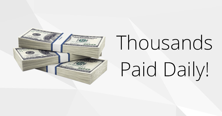 thousands paid daily